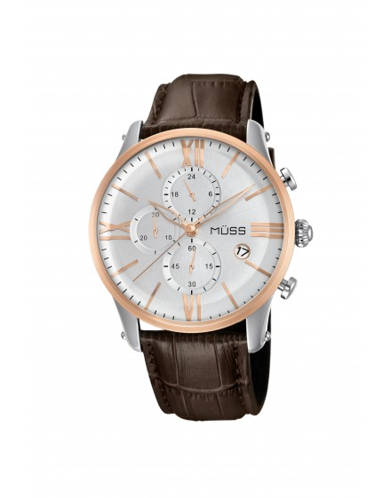 Nouvelle White Leather Brown