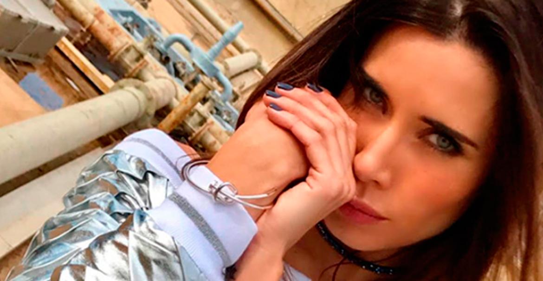 Pilar Rubio con joyería MÜSS