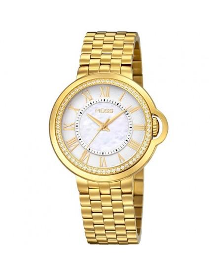 Reloj dorado la finesse