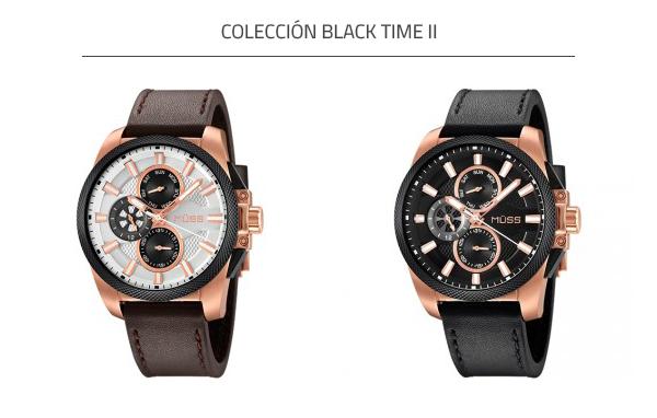 Reloj automático Black Time II