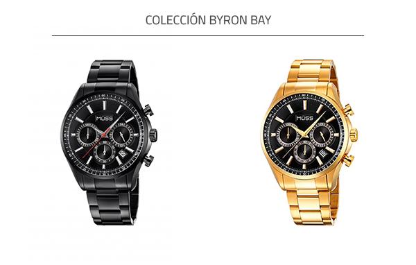 Reloj de acero MÜSS colección Byron Bay