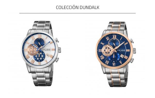 Relojes azules colección Dundalk