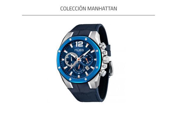 Colección Azul Manhattan
