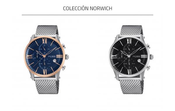 relojes de cuarzo MÜSS colección Norwich