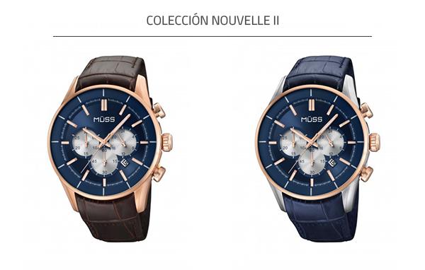 Reloj azul de la colección Nouvelle