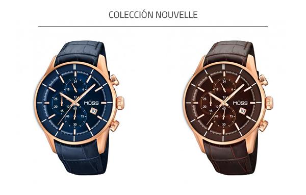 Reloj de piel MÜSS colección Nouvelle