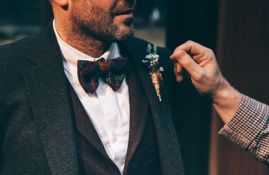 Reloj dorado de hombre con look elegante