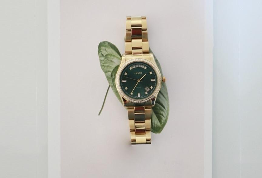 Reloj dorado mujer Diva