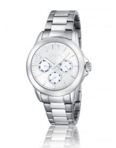 Reloj plateado Mujer New York