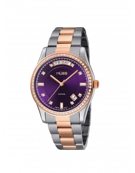 Reloj plateado Mujer Diva