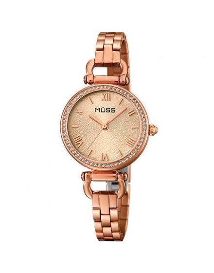 Reloj belle epoque esfera rosa