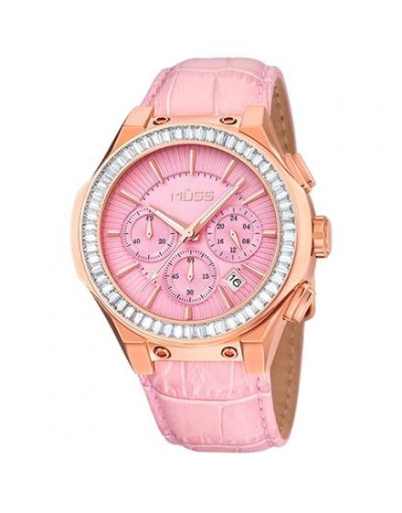 reloj esfera rosa fever