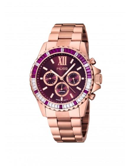 reloj grace esfera rosa