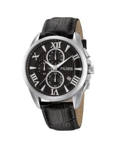reloj resfera negra hombre oxford
